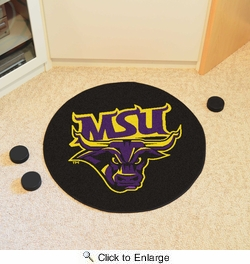 "Fan Mats 19529  Minnesota State University - Mankato Mavericks 27"" diameter Puck Mat"
