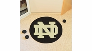 "Fan Mats 19539  University of Notre Dame Fighting Irish 27"" diameter Puck Mat"