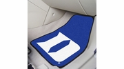 "Fan Mats 19573  Duke University Blue Devils 17"" x 27"" 2-pc Carpet Car Mat Set"