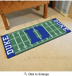 "Fan Mats 19574  Duke University Blue Devils 30"" x 72"" Football Field Runner"
