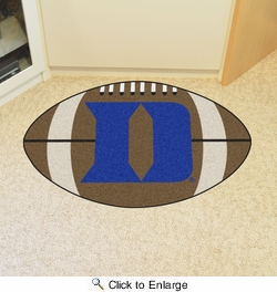 "Fan Mats 19575  Duke University Blue Devils 20.5"" x 32.5"" Football Mat"