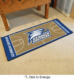 "Fan Mats 19611  Georgia Southern University Eagles 30"" x 72"" NCAA Basketball Runner"