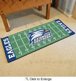 "Fan Mats 19612  Georgia Southern University Eagles 30"" x 72"" Football Field Runner"