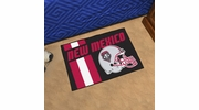 "Fan Mats 19637  University of New Mexico Lobos 19"" x 30"" Uniform Inspired Starter Mat"