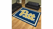 Fan Mats 19666  University of Pittsburgh Panthers 8' x 10' Area Rug
