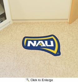 Fan Mats 19708  Northern Arizona University Lumberjacks Mascot Mat