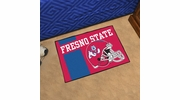 "Fan Mats 19731  Fresno State Bulldogs 19"" x 30"" Uniform Inspired Starter Mat"