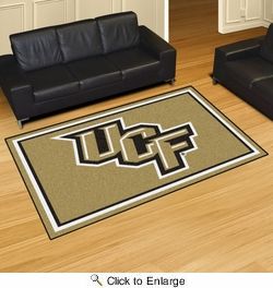 Fan Mats 20123  University of Central Florida Knights 5' x 8' Area Rug