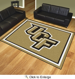 Fan Mats 20124  University of Central Florida Knights 8' x 10' Area Rug