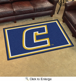 Fan Mats 20128  University of Tennessee at Chattanooga Mocs 4' x 6' Area Rug