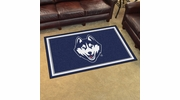 Fan Mats 20137  University of Connecticut Huskies 4' x 6' Area Rug