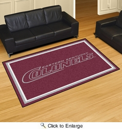 Fan Mats 20154  Eastern Kentucky University Colonels 5' x 8' Area Rug