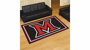 Fan Mats 20211  Miami University (OH) Redhawks 5' x 8' Area Rug