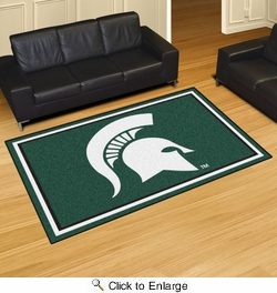 Fan Mats 20213  Michigan State University Spartans 5' x 8' Area Rug