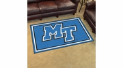 Fan Mats 20214  Middle Tennessee State University blue raiders 4' x 6' Area Rug