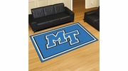 Fan Mats 20215  Middle Tennessee State University blue raiders 5' x 8' Area Rug