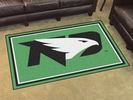 Fan Mats 20231  University of North Dakota Fighting Hawks 4' x 6' Area Rug