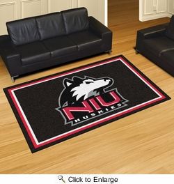 Fan Mats 20235  Northern Illinois University Huskies 5' x 8' Area Rug