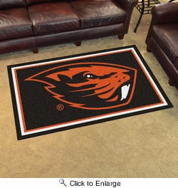 Fan Mats 20242  Oregon State University Beavers 4' x 6' Area Rug