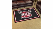 Fan Mats 20266  Troy University Trojans 4' x 6' Area Rug