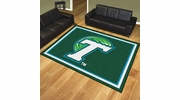 Fan Mats 20271  Tulane University Green Wave 8' x 10' Area Rug