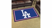 Fan Mats 20326  MLB - Los Angeles Dodgers 4' x 6' Area Rug