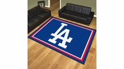 Fan Mats 20328  MLB - Los Angeles Dodgers 8' x 10' Area Rug
