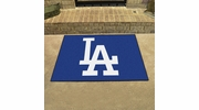 "Fan Mats 20329  MLB - Los Angeles Dodgers 33.75"" x 42.5"" All Star Mat"