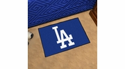 "Fan Mats 20330  MLB - Los Angeles Dodgers 19"" x 30"" Starter Mat"