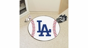"Fan Mats 20333  MLB - Los Angeles Dodgers 27"" diameter Baseball Mat"