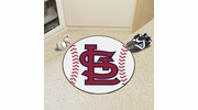 "Fan Mats 20338  MLB - St. Louis Cardinals 27"" diameter Baseball Mat"