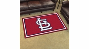 Fan Mats 20339  MLB - St. Louis Cardinals 4' x 6' Area Rug