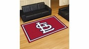 Fan Mats 20340  MLB - St. Louis Cardinals 5' x 8' Area Rug