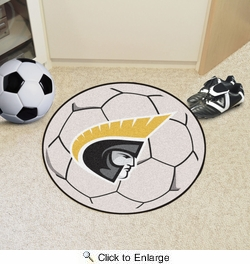 "Fan Mats 20349  Anderson University - South Carolina Trojans 27"" diameter Soccer Ball Mat"