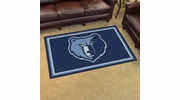 Fan Mats 20432  NBA - Memphis Grizzlies 4' x 6' Area Rug
