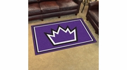 Fan Mats 20443  NBA - Sacramento Kings 4' x 6' Area Rug