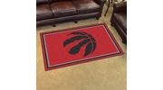 Fan Mats 20445  NBA - Toronto Raptors 4' x 6' Area Rug