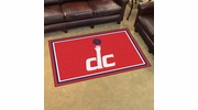 Fan Mats 20447  NBA - Washington Wizards 4' x 6' Area Rug