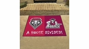 "Fan Mats 20557  New Mexico Lobos vs New Mexico State Aggies 33.75"" x 42.5"" House Divided Mat"