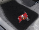 Fan Mats 20602  NFL - Tampa Bay Buccaneers 2-pc Embroidered Car Mat Set