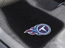 Fan Mats 20603  NFL - Tennessee Titans 2-pc Embroidered Car Mat Set
