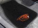Fan Mats 20636  Oregon State University Beavers 2-pc Embroidered Car Mat Set