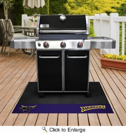 "Fan Mats 20723  Minnesota State University - Mankato Mavericks 26"" x 42"" Grill Mat"