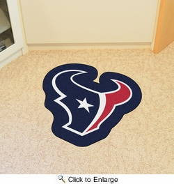 Fan Mats 20971  NFL - Houston Texans Mascot Mat