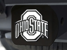 Fan Mats 21043  Ohio State University Buckeyes Hitch Cover - Black