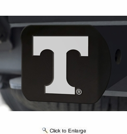 Fan Mats 21049  University of Tennessee Volunteers Hitch Cover - Black