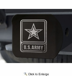 Fan Mats 21326  U.S. Army Hitch Cover - Black