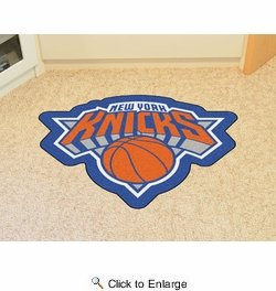 Fan Mats 21350  NBA - New York Knicks Mascot Mat