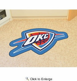 Fan Mats 21351  NBA - Oklahoma City Thunder Mascot Mat