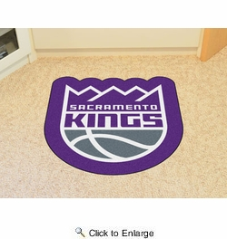 Fan Mats 21356  NBA - Sacramento Kings Mascot Mat